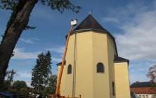 Poświęcenie dachu kościoła 2011r.