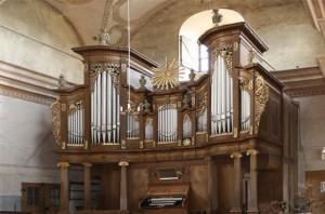 Die Orgel von außen
